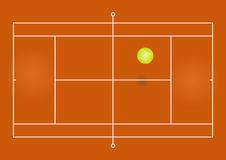 Tennis court Stock Photography