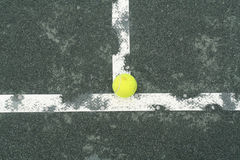Tennis Court. A tennis scene royalty free stock photography