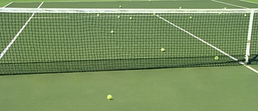 Tennis court. Royalty Free Stock Photography