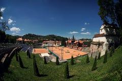 Free Tennis Court Stock Image - 95200341