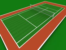 Free Tennis Court Royalty Free Stock Images - 966779