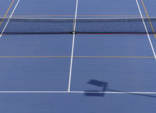 Tennis court from above Royalty Free Stock Images