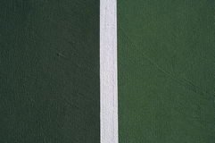 Tennis court abstract. Contrasting sides of the tennis court for background Stock Image