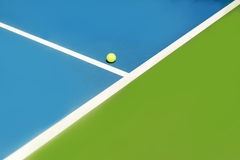 Tennis court ball in / out , ace / winner Stock Photography