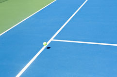 Tennis court ball in / out , ace / winner Stock Photos