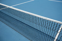 Tennis court. Closeup of the net at the tennis court Royalty Free Stock Photo