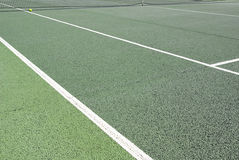 Tennis court detail Royalty Free Stock Image