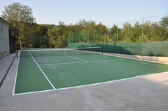 Tennis Court. Do you wanna play stock images