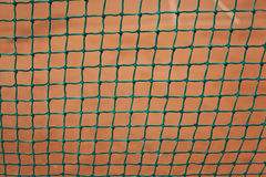Tennis court fence Royalty Free Stock Image