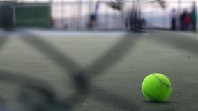 Tennis Court Game Sport Activity stock video