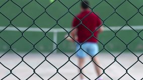 Tennis Court Game Sport Activity. Video stock video footage