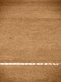 Tennis court line (288). Tennis court T-line, outside in a tennis court Royalty Free Stock Images