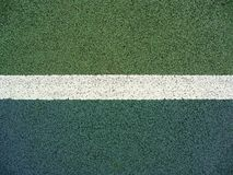 Tennis court line Stock Image