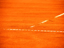 Tennis court line 370 Royalty Free Stock Photography