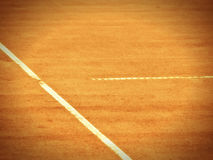 Tennis court line 377. Close-up Stock Image