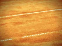 Tennis court line 282. Tennis court lines 282 close-up Royalty Free Stock Photos