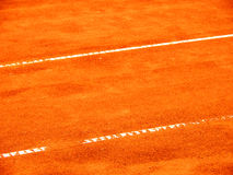 Tennis court line (285) Royalty Free Stock Photos