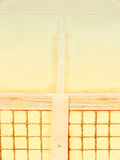 Tennis court (129). Tennis court with line and net Royalty Free Stock Images