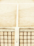 Tennis court with line and net (123). Tennis court with line and net, high key Royalty Free Stock Images