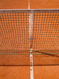 Tennis court (73). Tennis court line with net, outside Royalty Free Stock Images