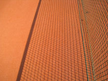 Tennis court (86). Tennis court with line and net shadow Royalty Free Stock Image