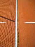 Tennis court with line (72). Tennis court with line and net shadow, outside Stock Image