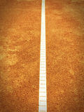 Tennis court line (293) Royalty Free Stock Photo