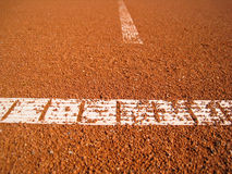 Tennis court line (75) Royalty Free Stock Photography