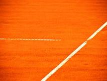 Tennis court line 376 Stock Image