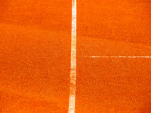 Tennis court line 384. T-line Royalty Free Stock Photos