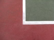 Tennis Court Lines Royalty Free Stock Images