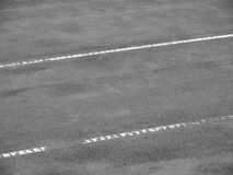 Tennis court lines (97). Tennis court lines, black and white Royalty Free Stock Image