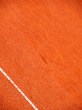 Tennis court lines (101). Tennis court lines, outside in a tennis court Stock Photography