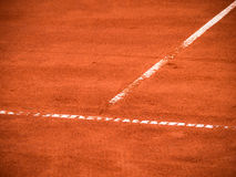 Tennis court lines (113) Stock Photography