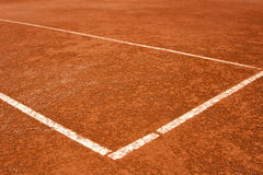 Tennis, court, lines Royalty Free Stock Photo