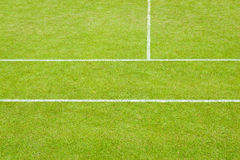 Tennis court lines Royalty Free Stock Photo