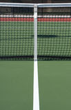 Tennis Court and Net. With room for copy Royalty Free Stock Photos