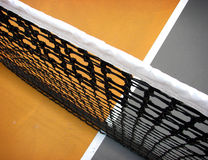 Tennis court and net Royalty Free Stock Photo