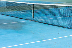 Tennis court. And net background Royalty Free Stock Photo