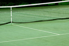 Tennis Court With Net Stock Photos