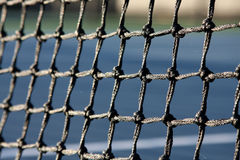 Tennis Court Net Close Up Stock Images