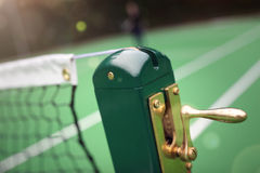 Tennis court net Royalty Free Stock Images