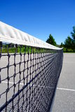 Tennis Court Net Stock Image