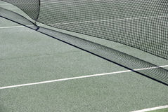 Tennis court net detail Stock Image
