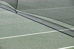 Tennis court net detail. Image of a tennis court net detail Stock Image