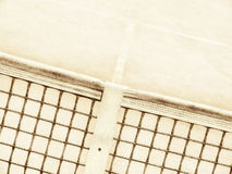 Tennis court (154). Tennis court and net,  experimantal look Royalty Free Stock Photography