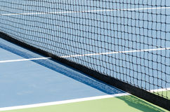 Tennis court and net Royalty Free Stock Photography