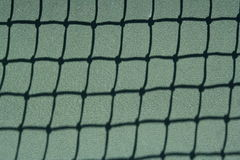 Tennis court net for sports background or abstract Royalty Free Stock Photos