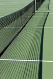 Tennis court nets Stock Photography