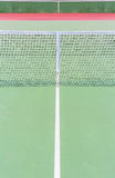 Tennis court with nets Stock Photography